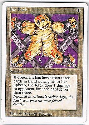MTG. Magic the Gathering. The Rack. NM. Revised (3rd ed)