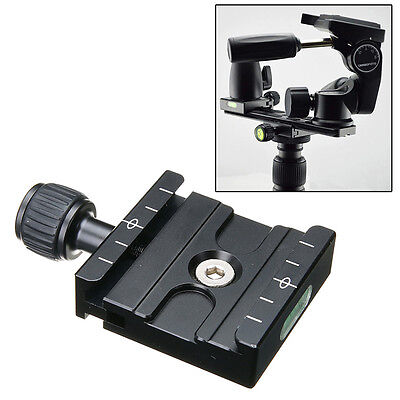 QR-50 Clamp Quick Release Plate For Arca SWISS Manfrotto Gitzo Tripod Ball Head