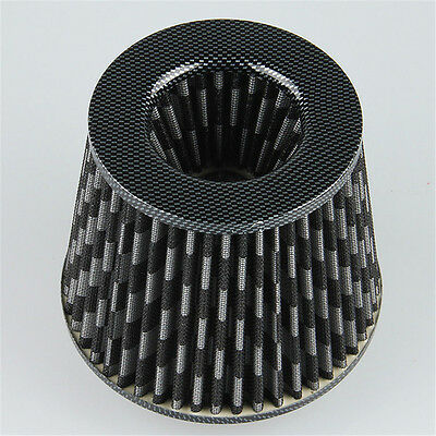 Universal Model New Car Inlet Short Cold Intake Air Filter Cleaner Washable