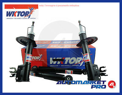 Set Completo 4 Ammortizzatori Wktory Fiat Multipla 1.6 1600 Natural Power Metano