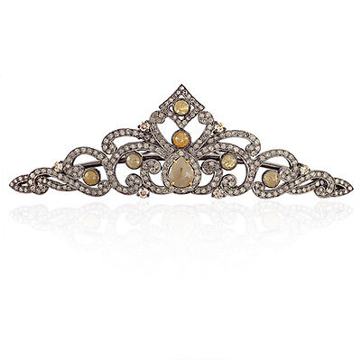 Ice Diamond Gold Sterling Silver Designer Hair Accessories Fashion Jewellery