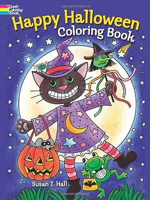 Coloring Book for Adults Kids Happy Halloween Wizard Pattern Relax Anti Stress