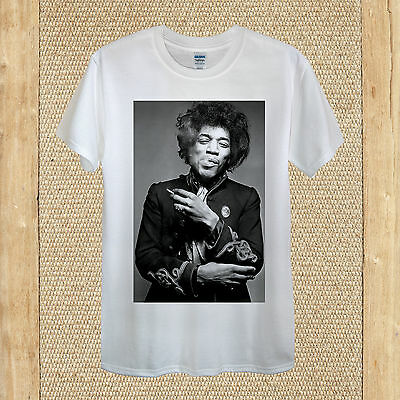 77e5c006 Jimi Hendrix T-shirt design / American rock music unisex women fitted  quality