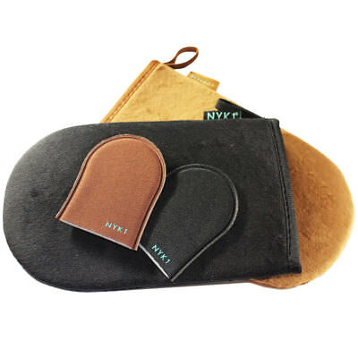 NYK1 LUXURY Tanning Mitt MegaMitt (Black) Fake Tan Applicator Glove
