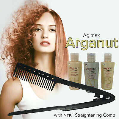 Agi Max Brazilian Keratin Hair Straightening with Argan Oil