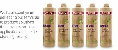 Sienna X Spray Tan Solutions 8%, 10%, 12% and 16% (All Sizes!)