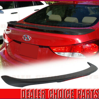 Factory Style Spoiler for the Hyundai Elantra Painted in the Factory Paint Code of Your Choice 509 MJB