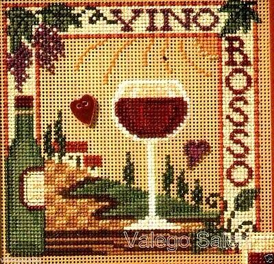 Mill Hill Beads Buttons Counted Cross Stitch kit ~ VINO ROSSO Sale #14-7102