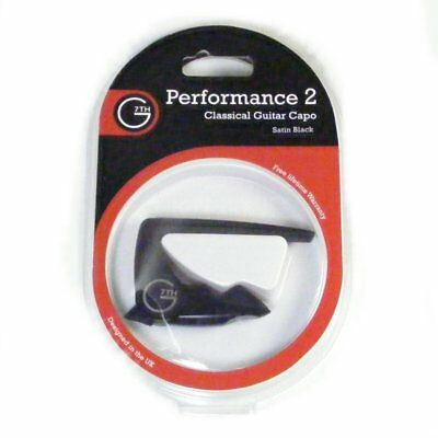 G7th Performance 2 Capo for Classical Guitar, Black 317