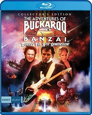 The Adventures Of Buckaroo Banzai Across The 8Th Dimension [New Blu-ray] Colle