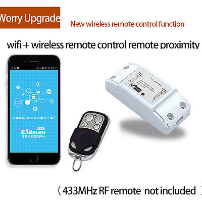 Hot  Sonoff Smart WiFi Wireless Home Switch Module for Apple Android