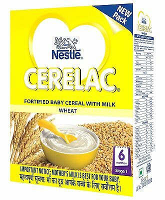 Nestle Cerelac Stage 1 Fortified Baby Cereal Wheat - 300g / 10.6 Oz.| New Fship