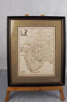 "Pierre M. Lapie Circa 1830 Cartographic French Map Of Asia ""Asie"""