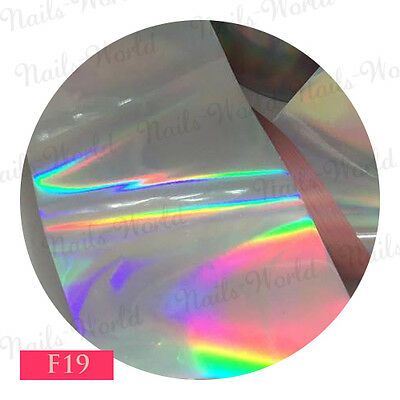 9x  20 CM F03 Transfer Foil Nail Art Unghie Decorazione Stickers