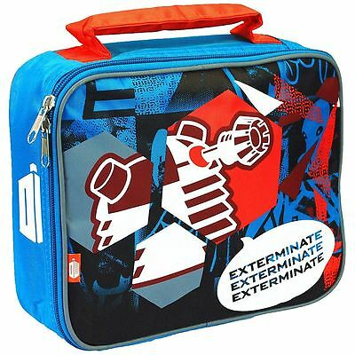 Doctor Who® Daleks Exterminate Children Lunch Bag BBC DW TV Show Official