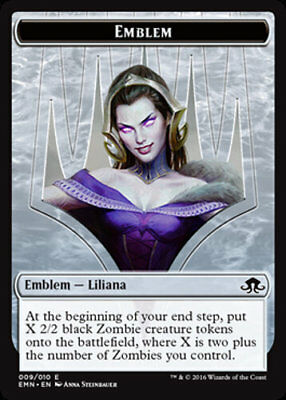 Liliana Emblem - MTG Eldritch Moon - NEW