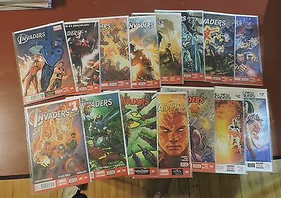 All-New Invaders #1-15 complete set NM 1st prints Captain America Bucky