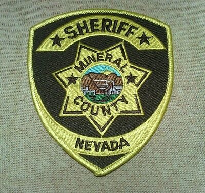 NV Mineral County Nevada Sheriff Patch