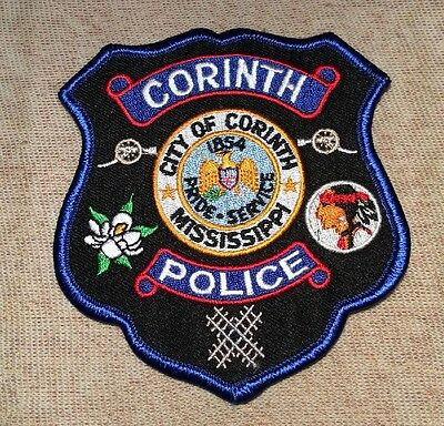MS Corinth Mississippi Police Patch