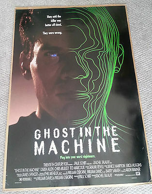 Ghost In The Machine Original Movie Poster (1993) 27x40