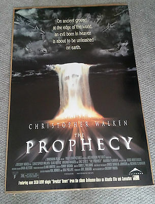 The Prophecy (1995) Original One Sheet Movie Poster 27x40 Christopher Walken