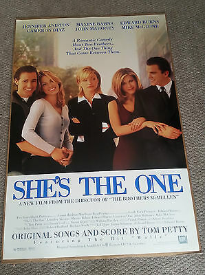 Shes The One (1996) Original One Sheet Movie Poster 27x40 Jennifer Aniston