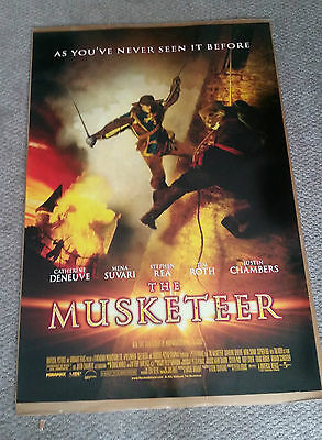 The Musketeer (2001) Original One Sheet Movie Poster 27x40