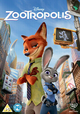Zootropolis DVD (2016) Byron Howard cert PG Incredible Value and Free Shipping!
