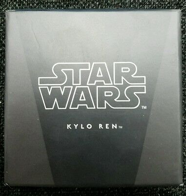 Niue Disney Star Wars $2, 1 oz. Silver Proof Coin, 2016,Kylo Ren