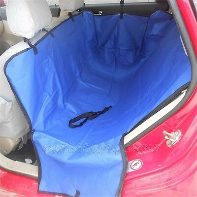 Dog Cat Seat Cover Safety Pet Waterproof Hammock For Car Blue Pink Green Brown T