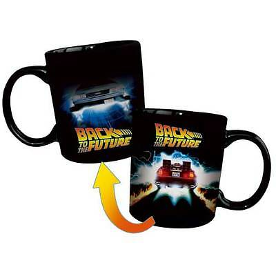Back to the Future - Delorean Heat Changing Mug NEW