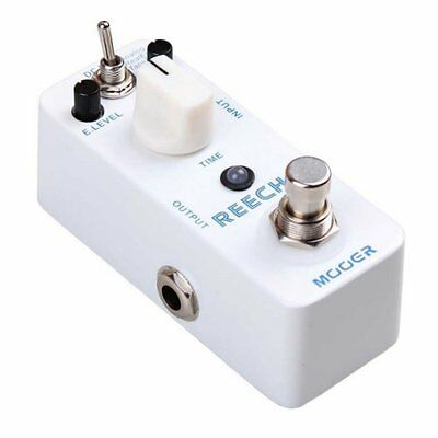 Mooer Micro Compact Reecho Digital Delay Effects Pedal, MDD1