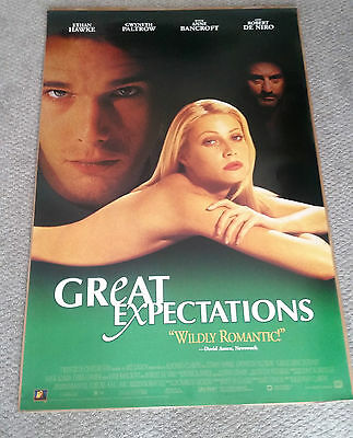 Great Expectations Original Movie Poster (1998) 27x40 Ethan Hawke