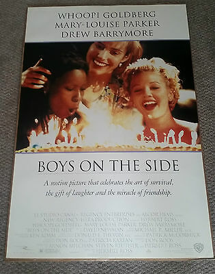 Boys On The Side (1995) Original One Sheet Poster 27x40 Drew Barrymore