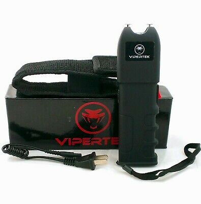 VIPERTEK Extreme High Voltage 76 Billion Volt Self Defense Stun Gun Free holster