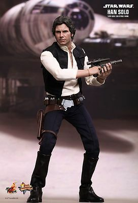 Star Wars Episode IV 1:6 Han Solo Figure Hot Toys - Official