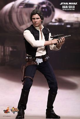 Star Wars Han Solo 1:6 Hot Toys Figure - Official