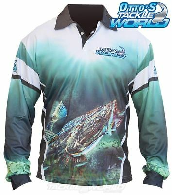 Tackle World Flathead 2016 Long Sleeve Fishing Sun Shirt BRAND NEW at Otto's