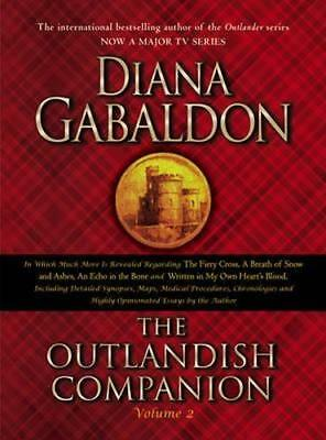 NEW The Outlandish Companion By Diana Gabaldon Paperback Free Shipping