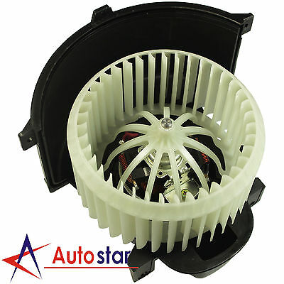 New Heater Blower Motor & Cage Front For 2004-2010 Audi Q7 Volkswagen VW Touareg
