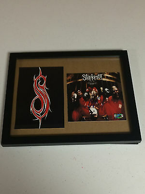 Slipknot Corey Taylor Autographed Signed Cd Cover 2 Signing Picture Proof & Coa
