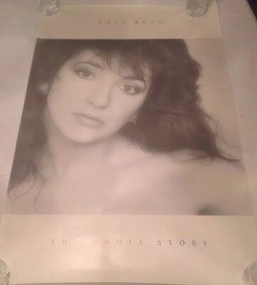 Black And White Kate Bush Poster The Whole Story 23x35inches