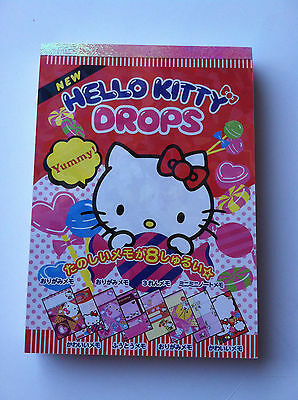 "Sanrio Original Veriety Memo Pad with 8 Designs 144 Sheets (Appr4""x 5.75"" x 0.5"""