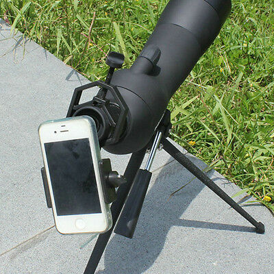 Spotting Scope Astronomical Telescope Universal Stand Mount Bracket for Phone