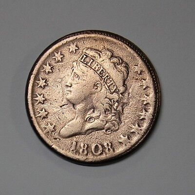 USA 1808 1 Cent Large Coin