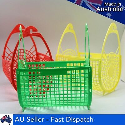 New Plastic Pegs Basket Hanging Storage Holder Bags For Laundry Clothes Washing