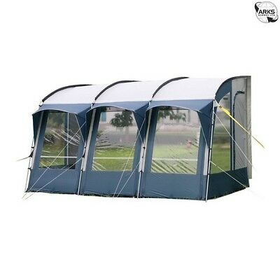 ROYAL Wessex Awning 390 - Blue/Silver - 108629