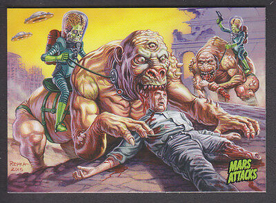 Mars Attacks Occupation - Base Card - # 22