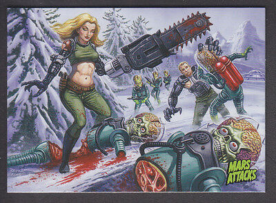 Mars Attacks Occupation - Base Card - # 42