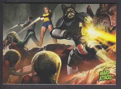 Mars Attacks Occupation - Base Card - # 44